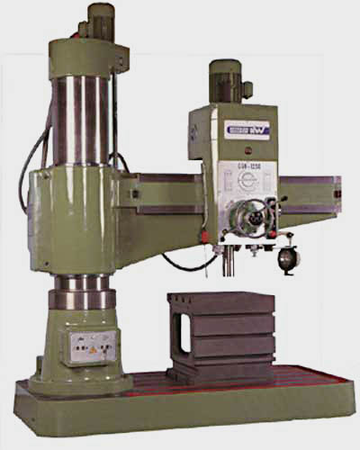 KITCHEN-WALKER RADIAL DRILLS