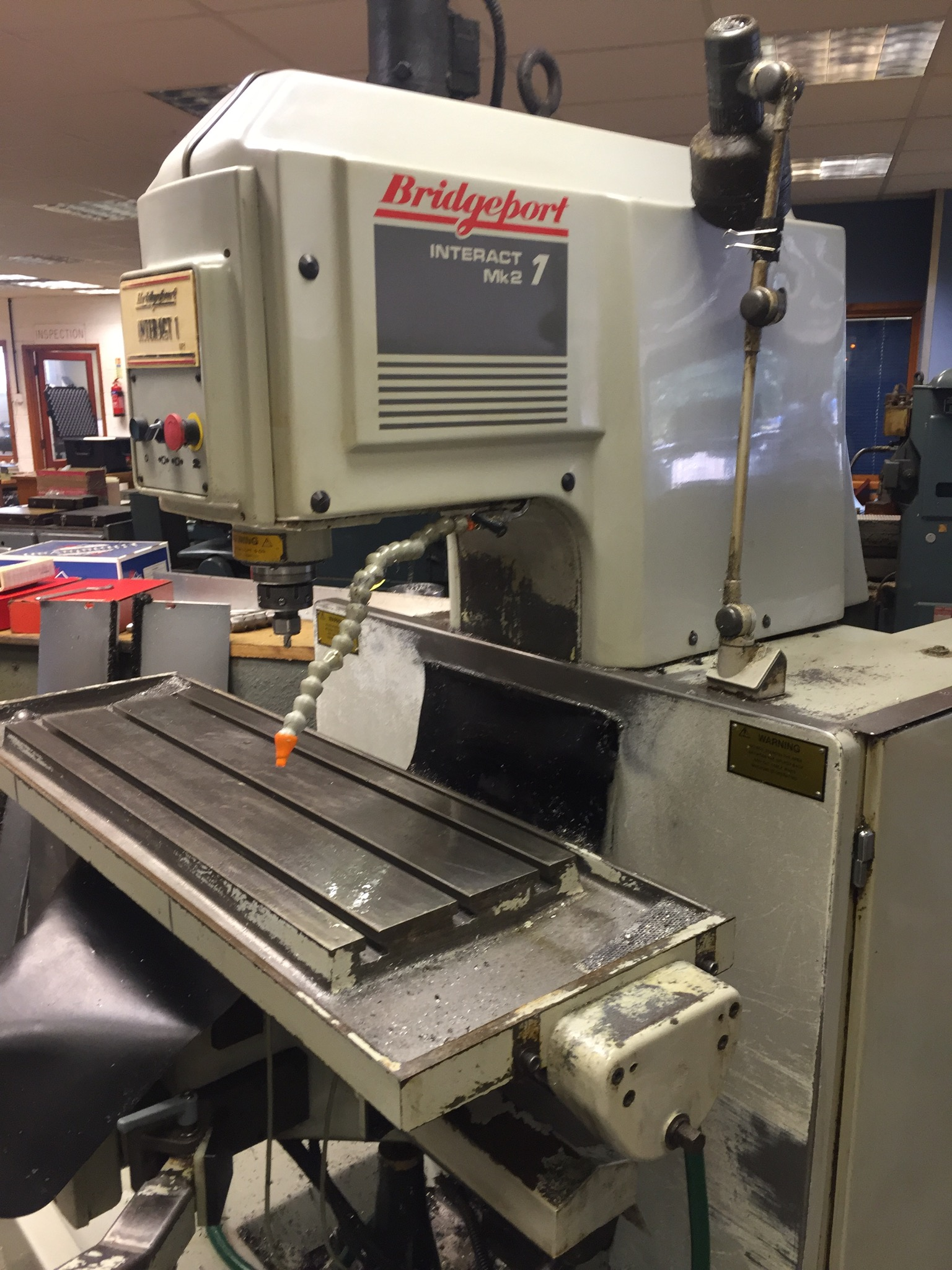 Bridgeport Interact 1 Mk2 Cnc Mill 7306